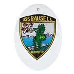 USS BAUSELL Ornament (Oval)