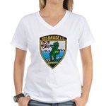 USS BAUSELL Women's V-Neck T-Shirt