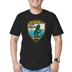 USS BAUSELL Men's Fitted T-Shirt (dark)