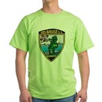 USS BAUSELL Green T-Shirt
