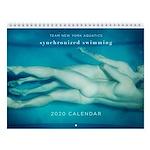Tnya Synchronized Swimming 2020 Wall Calendar
