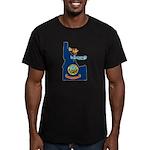 ILY Idaho Men's Fitted T-Shirt (dark)