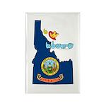 ILY Idaho Rectangle Magnet (100 pack)