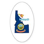 ILY Idaho Sticker (Oval 10 pk)