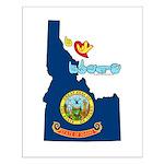 ILY Idaho Small Poster