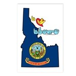 ILY Idaho Postcards (Package of 8)