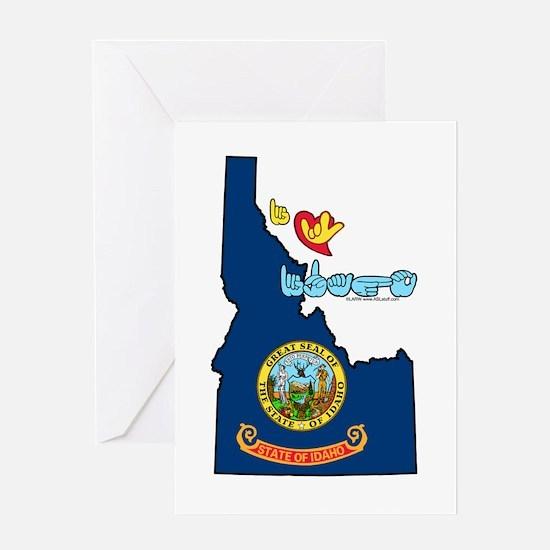 ILY Idaho Greeting Card