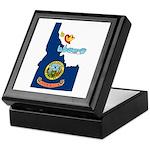 ILY Idaho Keepsake Box