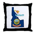 ILY Idaho Throw Pillow