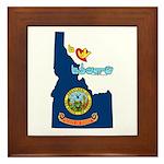 ILY Idaho Framed Tile