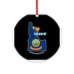 ILY Idaho Ornament (Round)