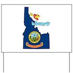 ILY Idaho Yard Sign