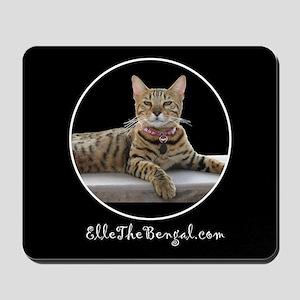 Elle The Bengal Cat Mousepad