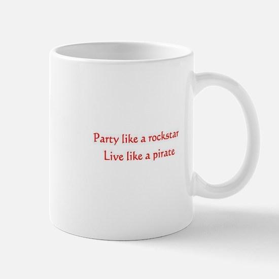 Pirate Rockstar Mug