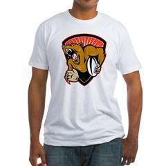 grizzly bear rugby Shirt