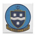 USS BRINKLEY BASS Tile Coaster