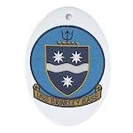 USS BRINKLEY BASS Ornament (Oval)