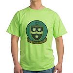 USS BRINKLEY BASS Green T-Shirt