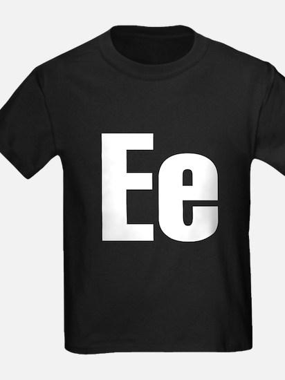 E Helvetica Alphabet T