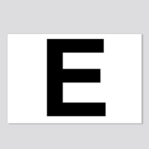 E Helvetica Alphabet Postcards (Package of 8)