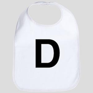 D Helvetica Alphabet Bib