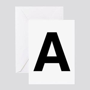 A Helvetica Alphabet Greeting Card