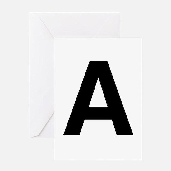 A Helvetica Alphabet Greeting Card