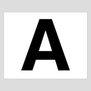 A Helvetica Alphabet Small Poster
