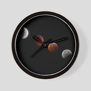 WS Lunar Eclipse Wall Clock