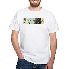 Buddha Baby = Wise Child on White T-Shirt