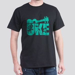 The Uke Seafoam Dark T-Shirt
