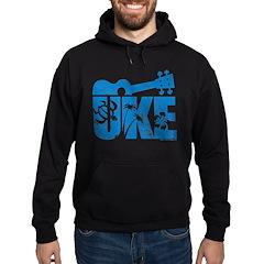 The Uke Blue Hoodie (dark)