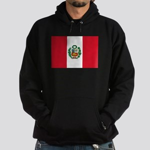 Peru Flag Hoodie (dark)