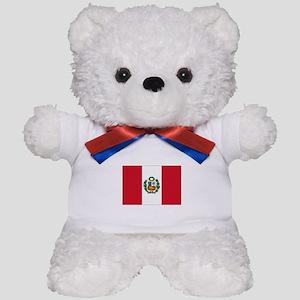 Peru Flag Teddy Bear