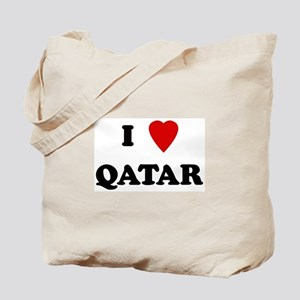 I Love Qatar Tote Bag