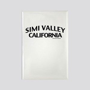 Simi Valley Rectangle Magnet