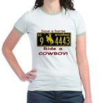 Ride a Cowboy Jr. Ringer T-Shirt