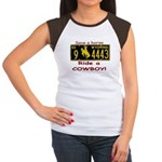 Ride a Cowboy Women's Cap Sleeve T-Shirt