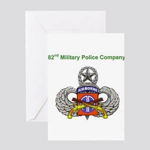 82nd MP Company Greeting Card