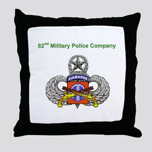 82nd MP Company Throw Pillow