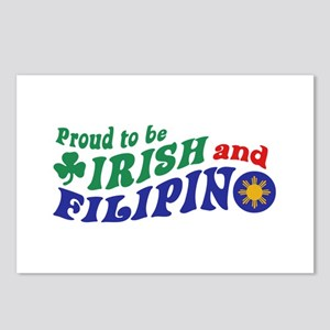 Proud to be Irish and Filipino Postcards (Package