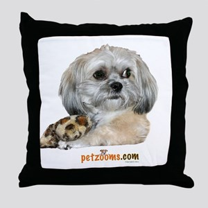 Zoe with Bone Throw Pillow