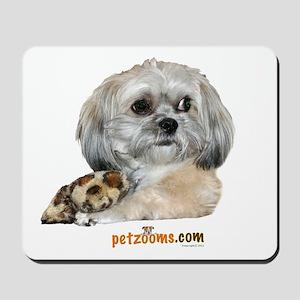 Zoe with Bone Mousepad