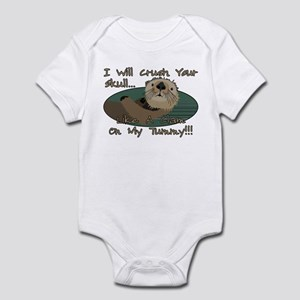 Otter Skull Crush Infant Bodysuit
