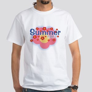 Summer Baby White T-Shirt