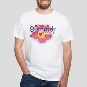 Summer Baby White T-Shirt