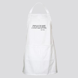 Pause and Reflect BBQ Apron