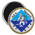 USS BEARSS Magnet