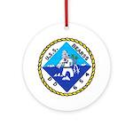 USS BEARSS Ornament (Round)