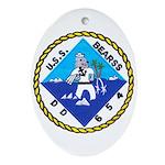 USS BEARSS Ornament (Oval)